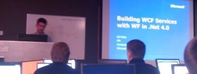 Building WCF Services presentation in Redmond